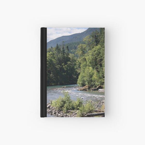 Elwha River, Olympic National Park, Washington Hardcover Journal