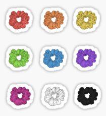 Scrunchies Sticker