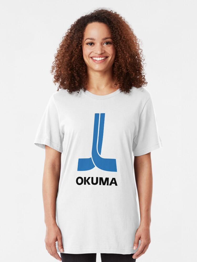 Alternate view of CNC - Okuma Slim Fit T-Shirt