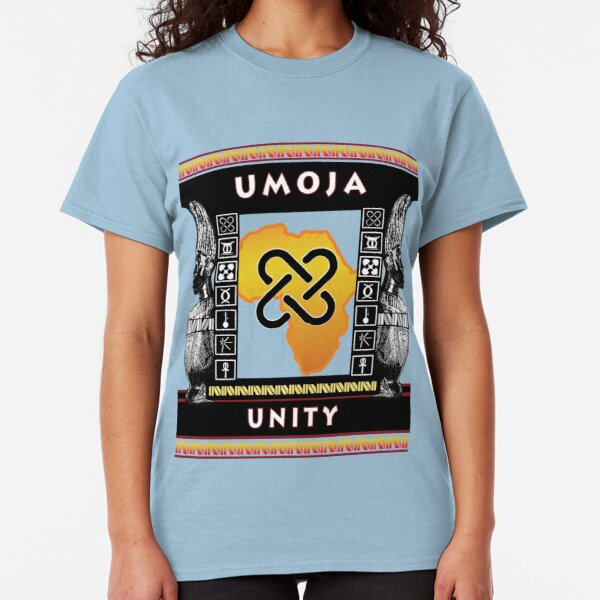 Nguzo Saba UMOJA Classic T-Shirt