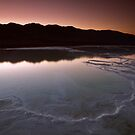 Fire and Ice in Death Valley by David Orias