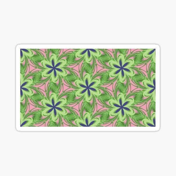 Flower Tile 2 Sticker