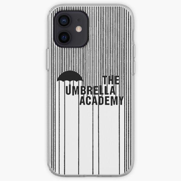 The Umbrella Academy - Logo con líneas Funda blanda para iPhone