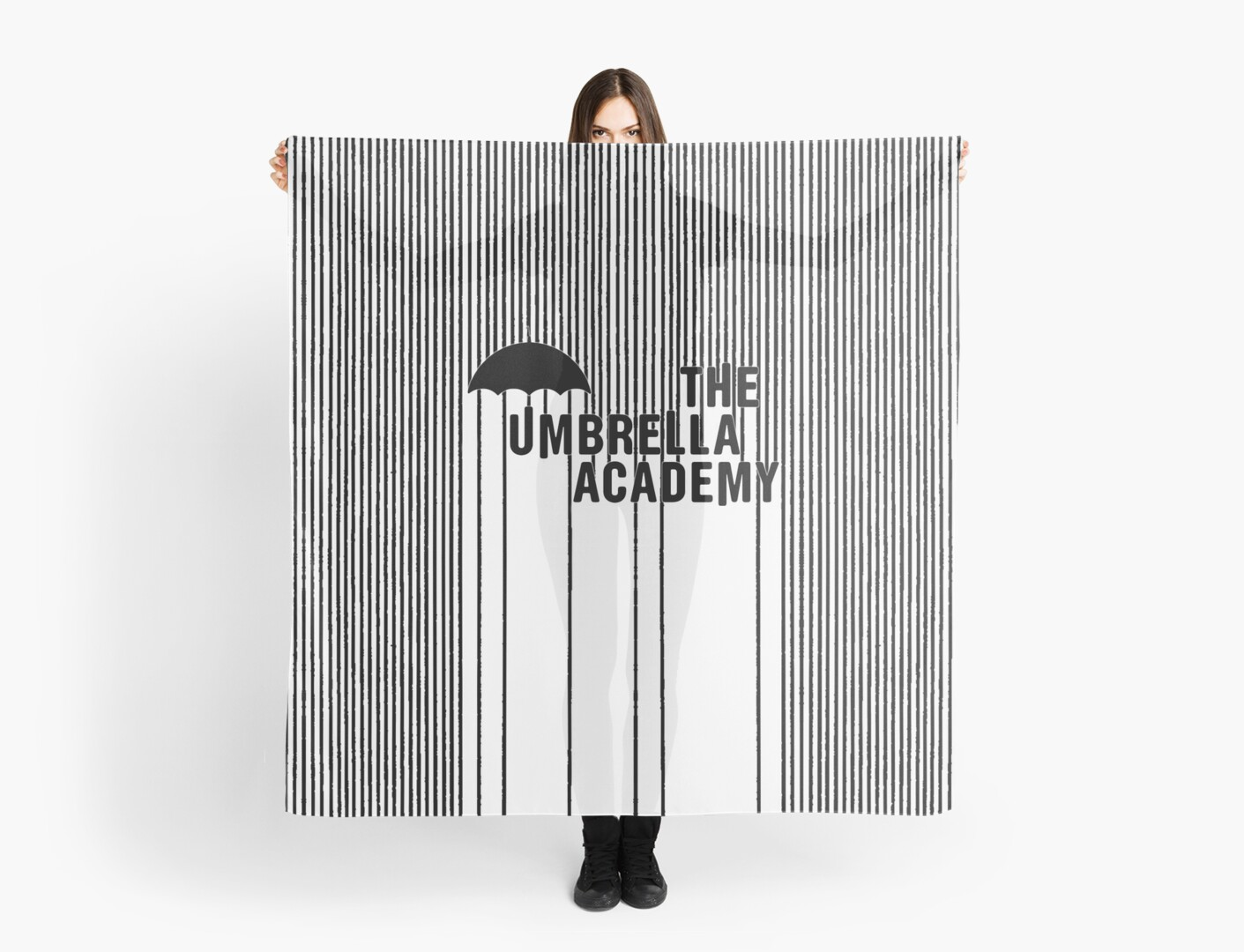 'The Umbrella Academy - Logo with lines' Scarf by Daylightring Account