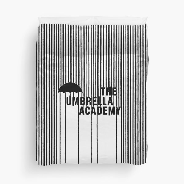 The Umbrella Academy - Logo avec des lignes Housse de couette