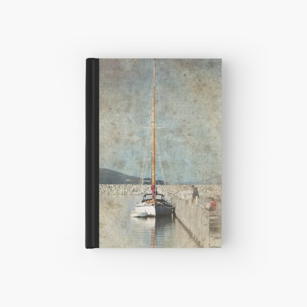 Yacht Hardcover Journal