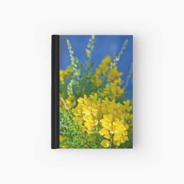 Pretty Yellow Hardcover Journal