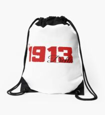 1913 Delta Heart Drawstring Bag