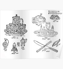 New Sample Book of Our Artistic Perforated Parchment Stamping Patterns Kate Greenaway, John Frederick Ingalls 1886 0115 Poster