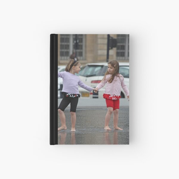 Twin Girls Hardcover Journal