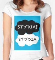 Stydia? Stydia. Women's Fitted Scoop T-Shirt