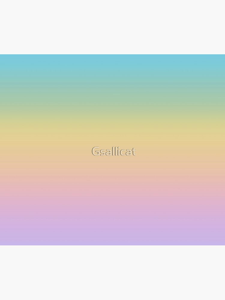 Pastel Easter Spring Rainbow Ombre Gradient Blue Yellow Pink Purple Duvet Cover By Gsallicat Redbubble
