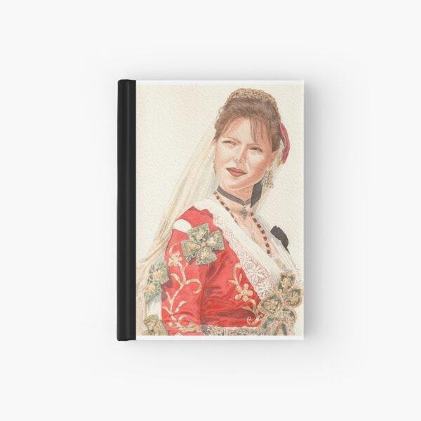 Albanian traditional Wedding Costume of Piana Degli Albanesi Hardcover Journal