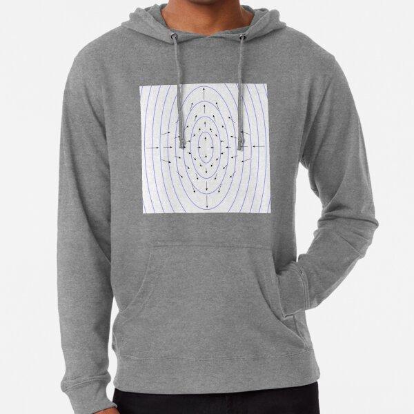 #shape #pattern #abstract #design illustration vortex futuristic modern Lightweight Hoodie