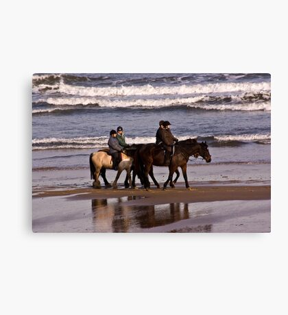Before The Tides In Canvas Print
