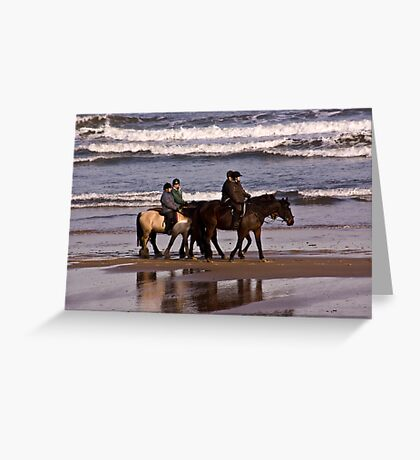 Before The Tides In Greeting Card