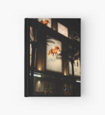 Equine advertising Hardcover Journal