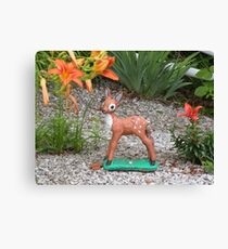 deer beauty Canvas Print