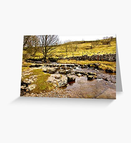 Cray Gill Stepping Stones Greeting Card
