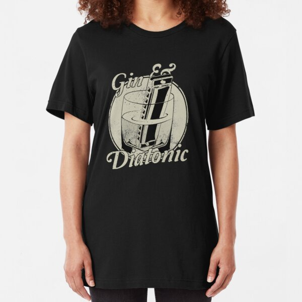 Gin And Diatonic Slim Fit T-Shirt