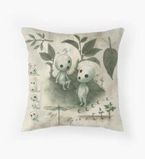 Natural History - Forest Spirit studies Throw Pillow