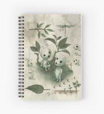 Natural History - Forest Spirit studies Spiral Notebook