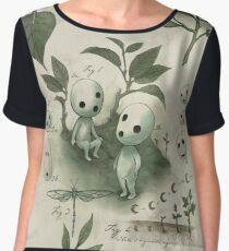 Natural History - Forest Spirit studies Chiffon Top