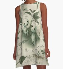 Natural History - Forest Spirit studies A-Line Dress