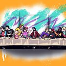The Last 90s Supper by LVBART