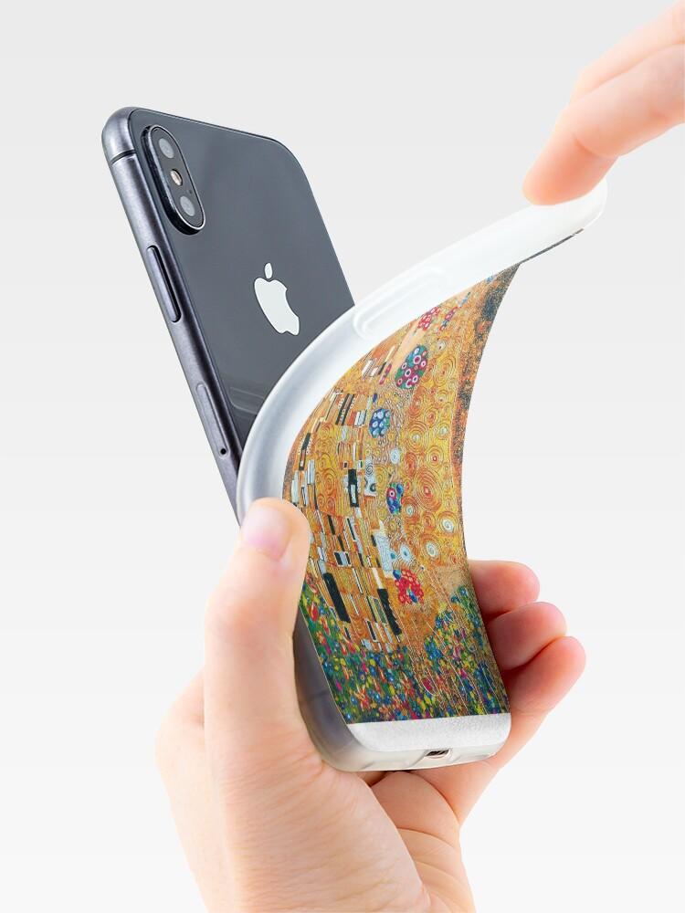 Alternative Ansicht von Gustav Klimt - Der Kuss iPhone-Hülle & Cover