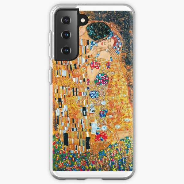Gustav Klimt - The kiss  Samsung Galaxy Soft Case