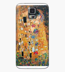 Gustav Klimt - Der Kuss Hülle & Klebefolie für Samsung Galaxy