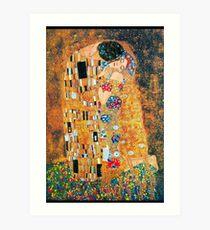 Lámina artística Gustav Klimt - El beso