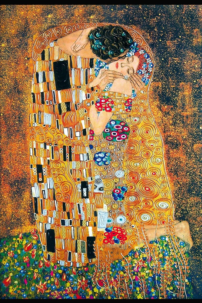an analysis of the klimts art the kiss 29032006  the universe in a kiss   while tension often creates an anxiety in works of art, this tension creates a sense of excitement,.