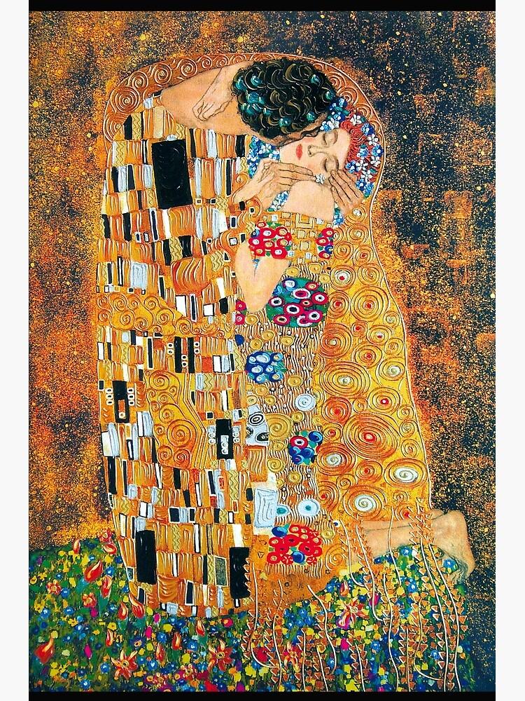 Gustav Klimt - The kiss  by Selfcontrol