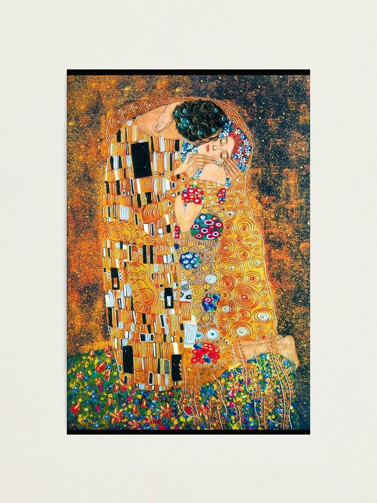 Alternate view of Gustav Klimt - The kiss  Photographic Print