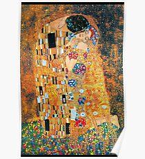 Gustav Klimt - Der Kuss Poster