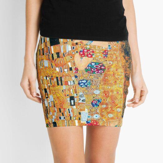 Gustav Klimt - El beso Minifalda