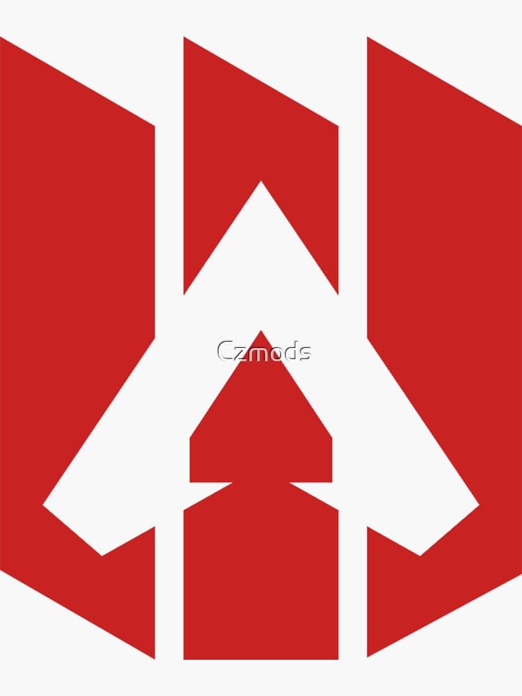 """Apex Legends logo (transparent)"" Sticker by Czmods ..."