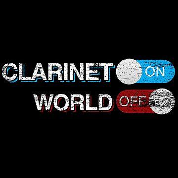 Clarinet world by GeschenkIdee