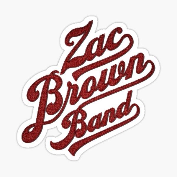 19februari Zac Brown Band Jekyll + Hyde Tour Sticker