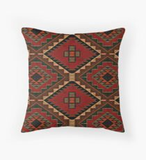 Vintage Patched Throw Pillow