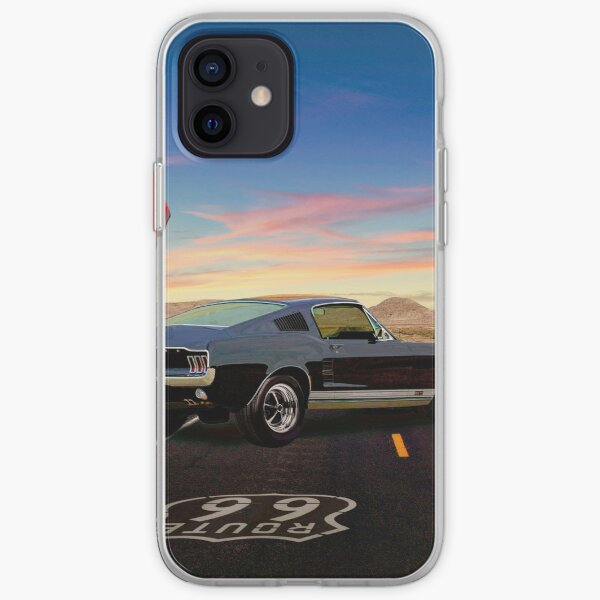 A Long Way from Home, Skyliner Motel - 1967 Ford Mustang Fastback iPhone Soft Case