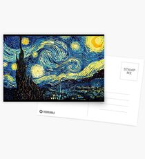 Vincent Van Gogh - Starry night  Postcards