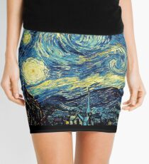 Vincent Van Gogh - Starry night  Mini Skirt
