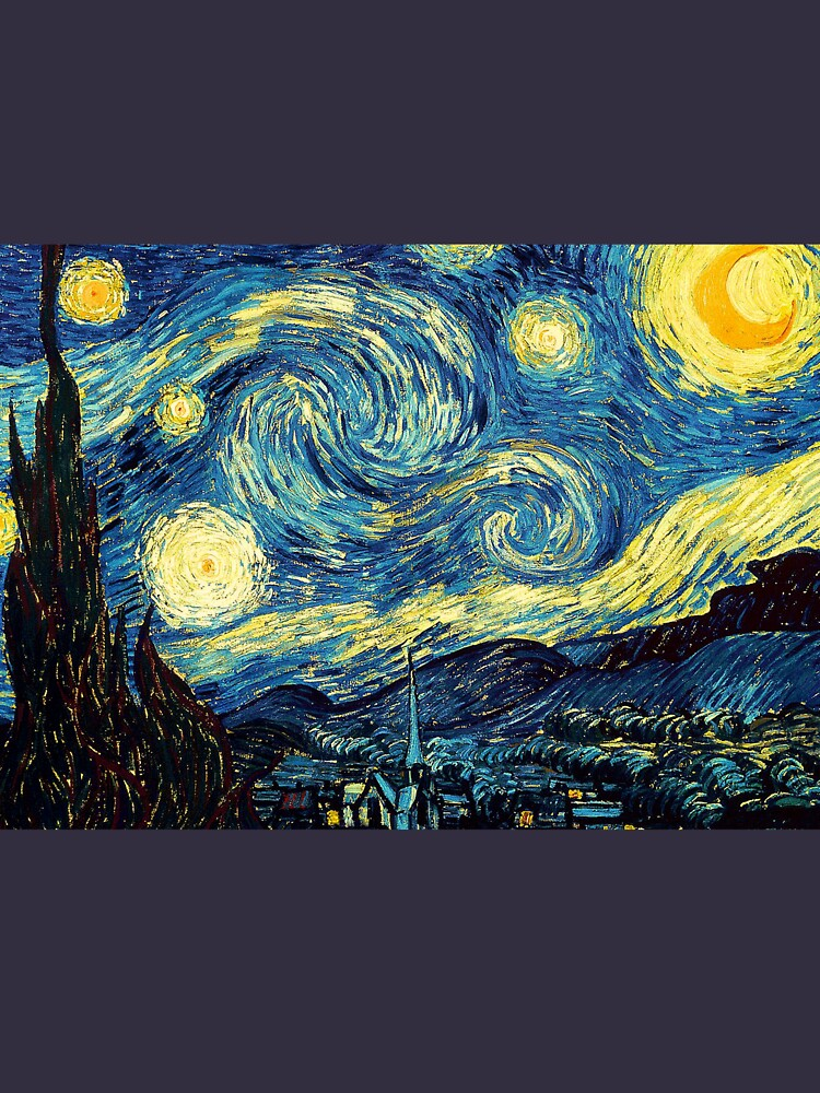 Vincent Van Gogh - Sternennacht von Selfcontrol