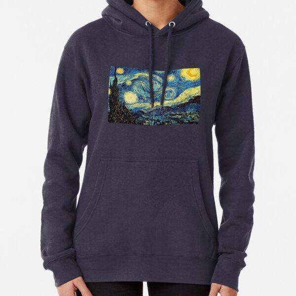 Vincent Van Gogh - Starry night  Pullover Hoodie