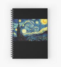 Vincent Van Gogh - Starry night  Spiral Notebook
