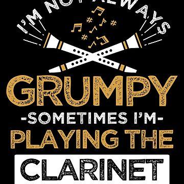 Clarinet musician by GeschenkIdee