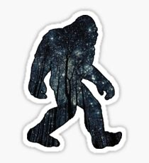 Bigfoot - Stars Sticker